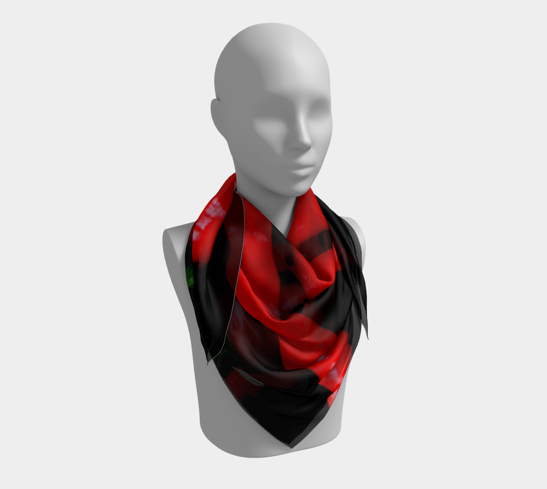 Four Red Chilies Square Scarf preview #3