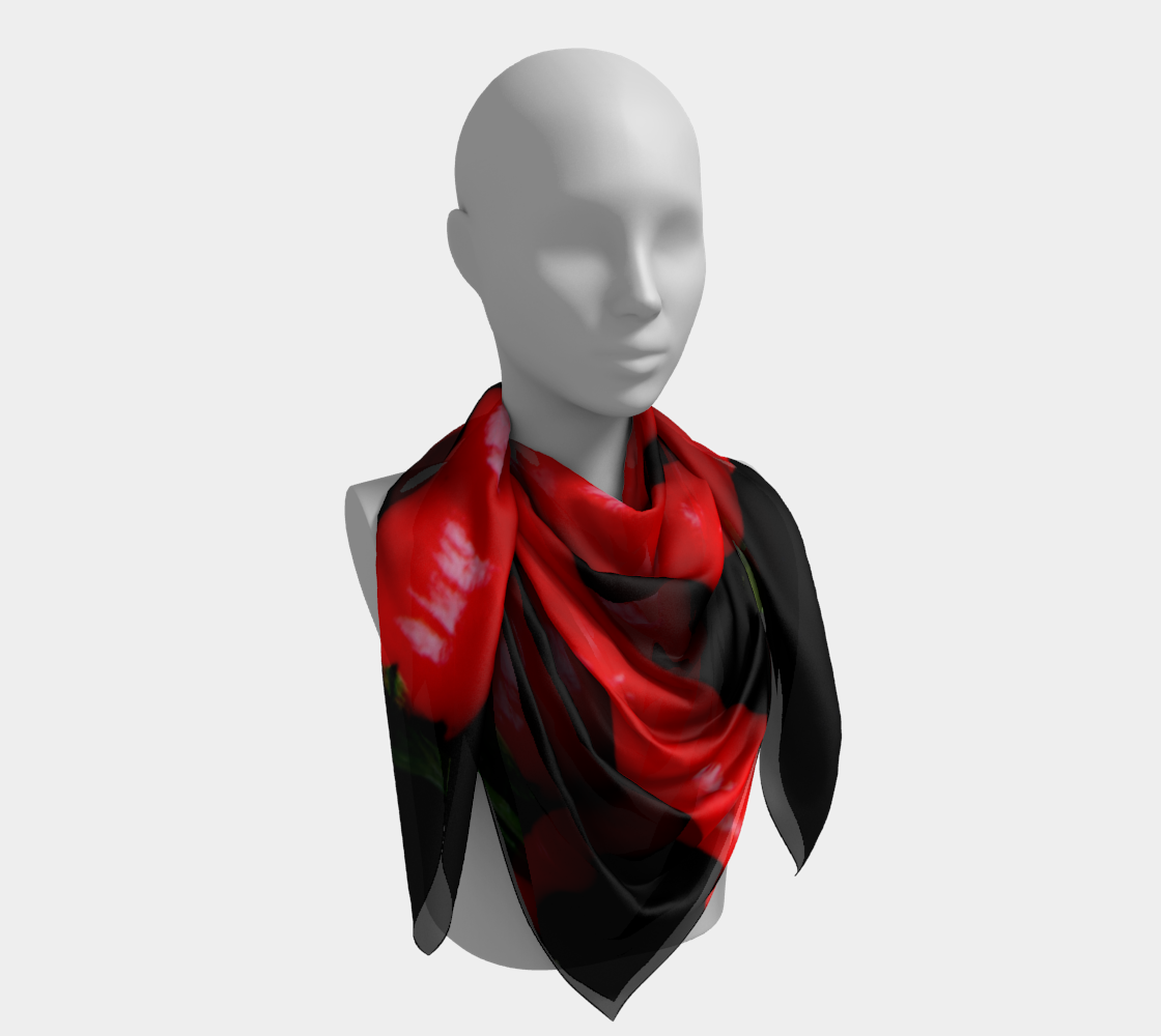 Four Red Chilies Square Scarf preview #4