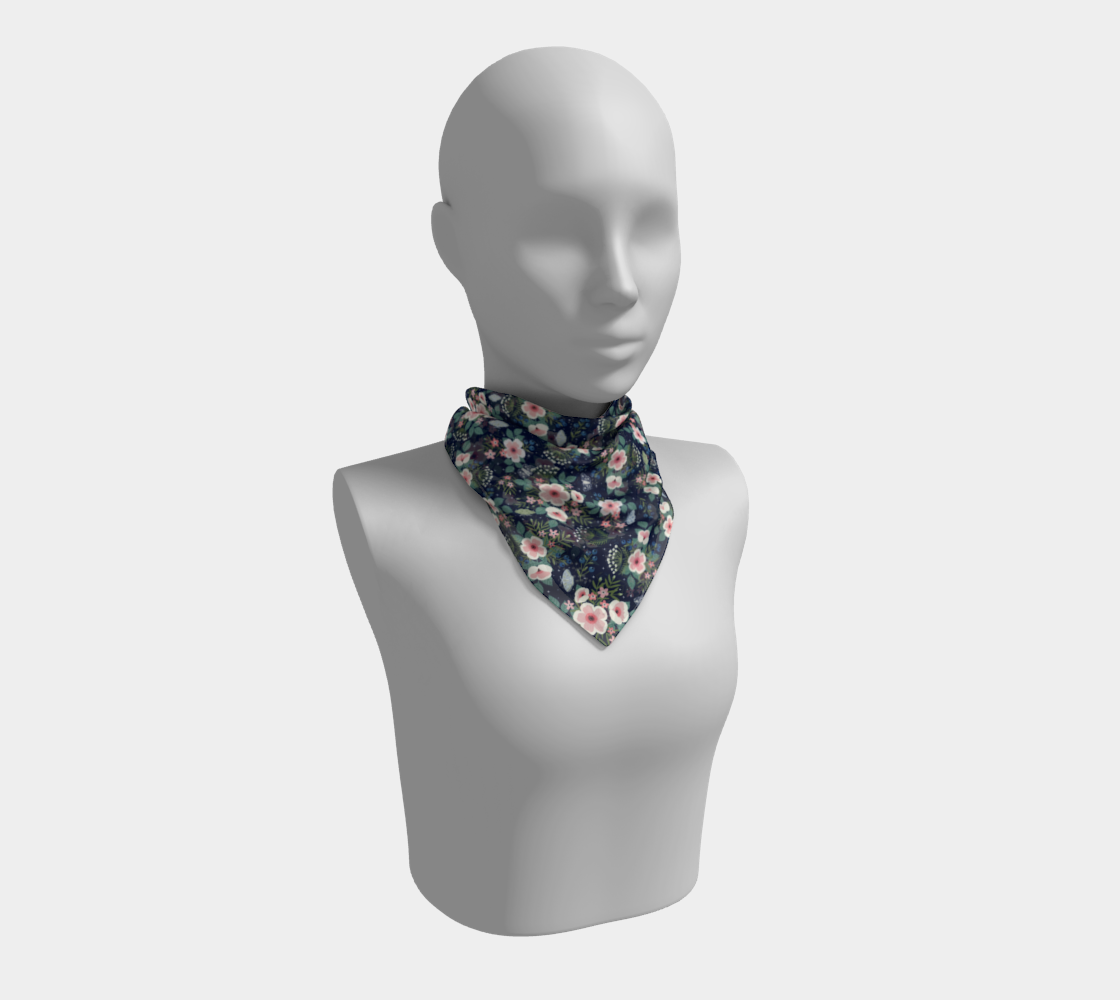 Meadow Whispers - Square Scarf preview