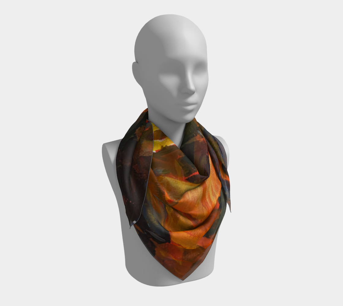 Artist's Camp Scarf preview #3