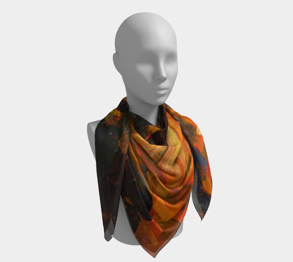 Artist's Camp Scarf preview #4