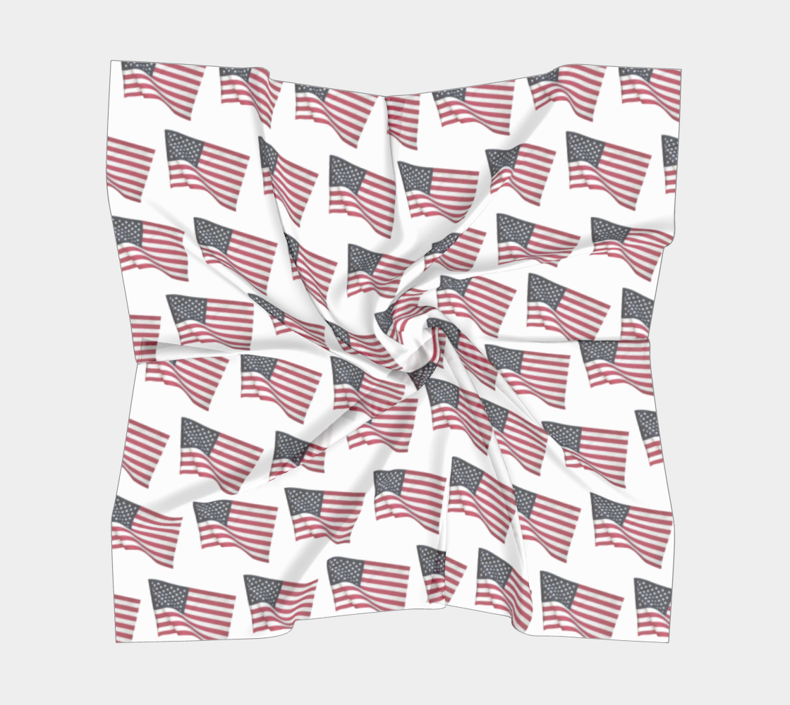 Flapping American Flags preview #5