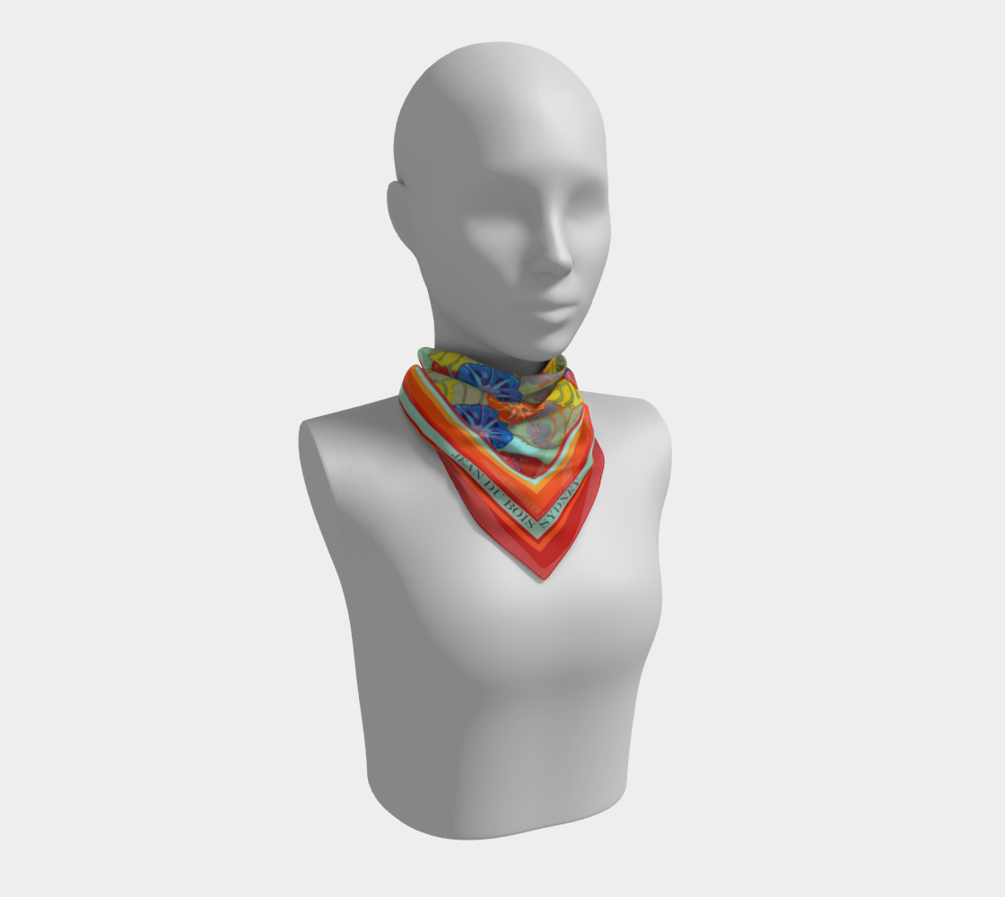 Hot Floral Scarf preview