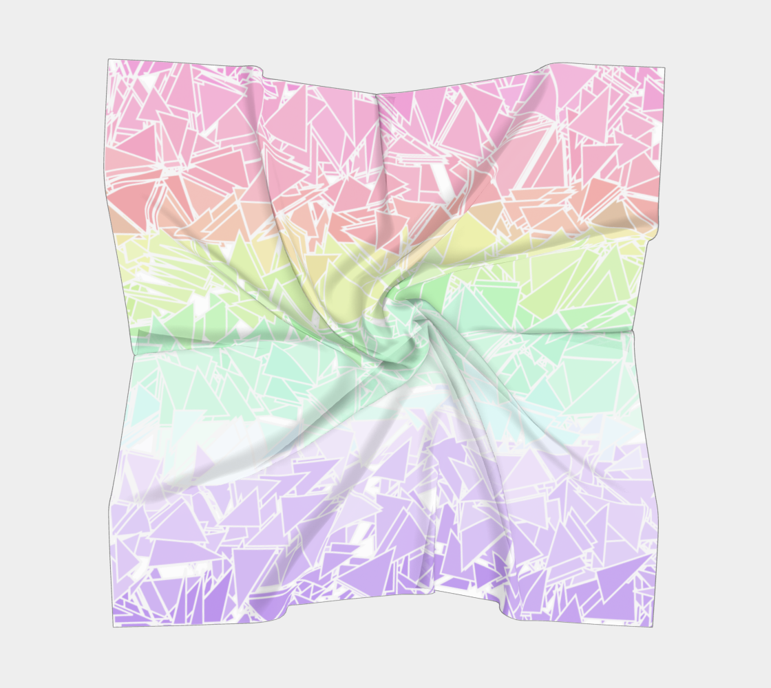 Groovy Boho Triangle Rainbow, 50% of profits donated to the Trevor Project! preview #5