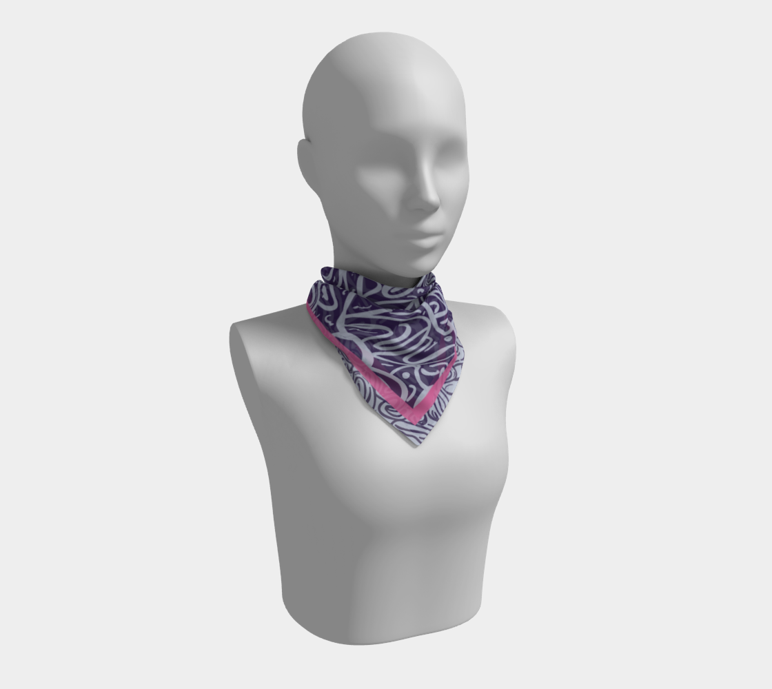 Arctic Strawberry Cosmos Scarf preview