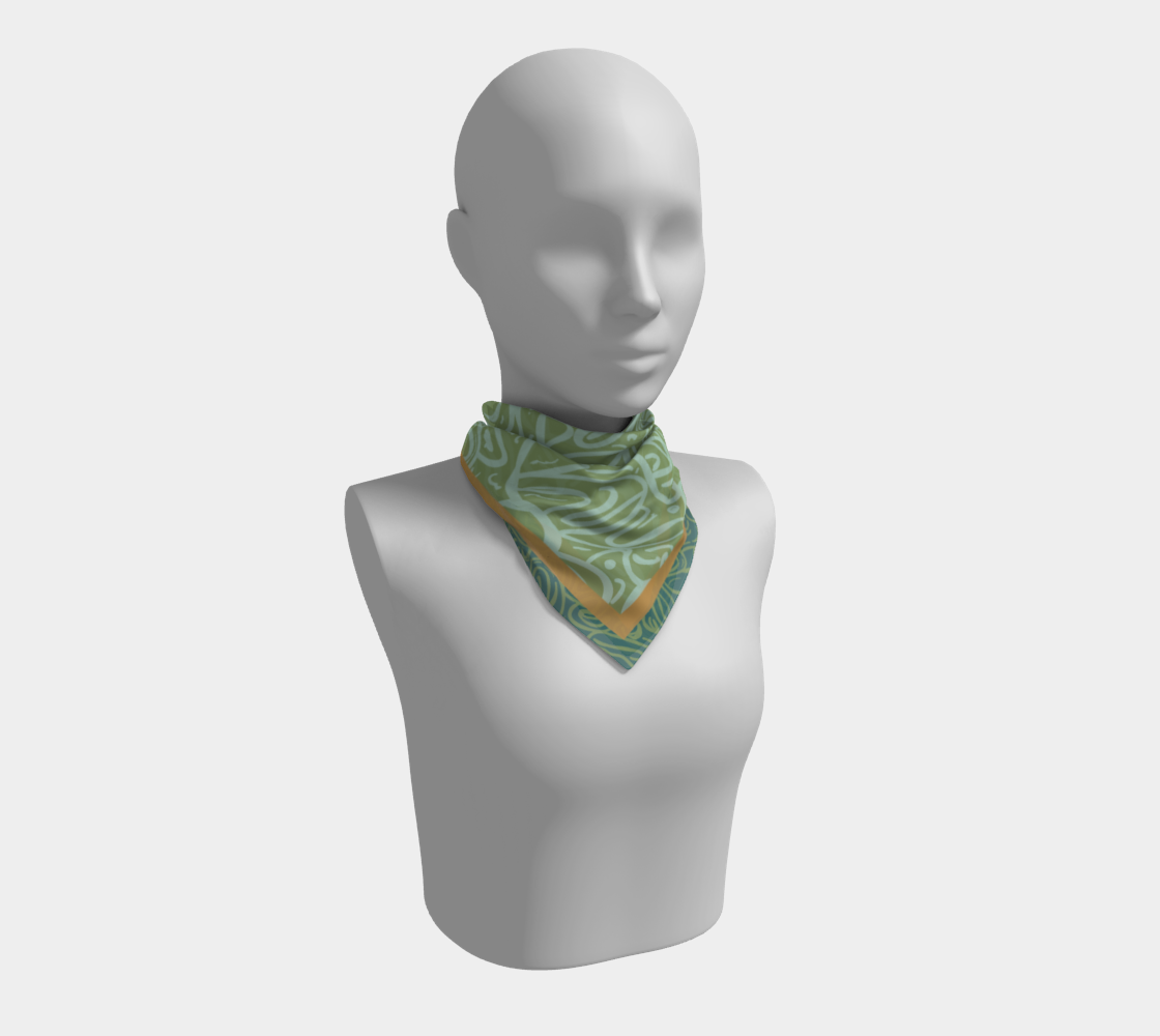 Honey Tendril Scarf preview