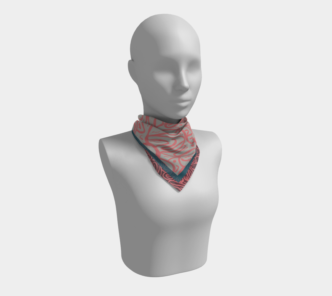 Colonial Wine Scarf preview