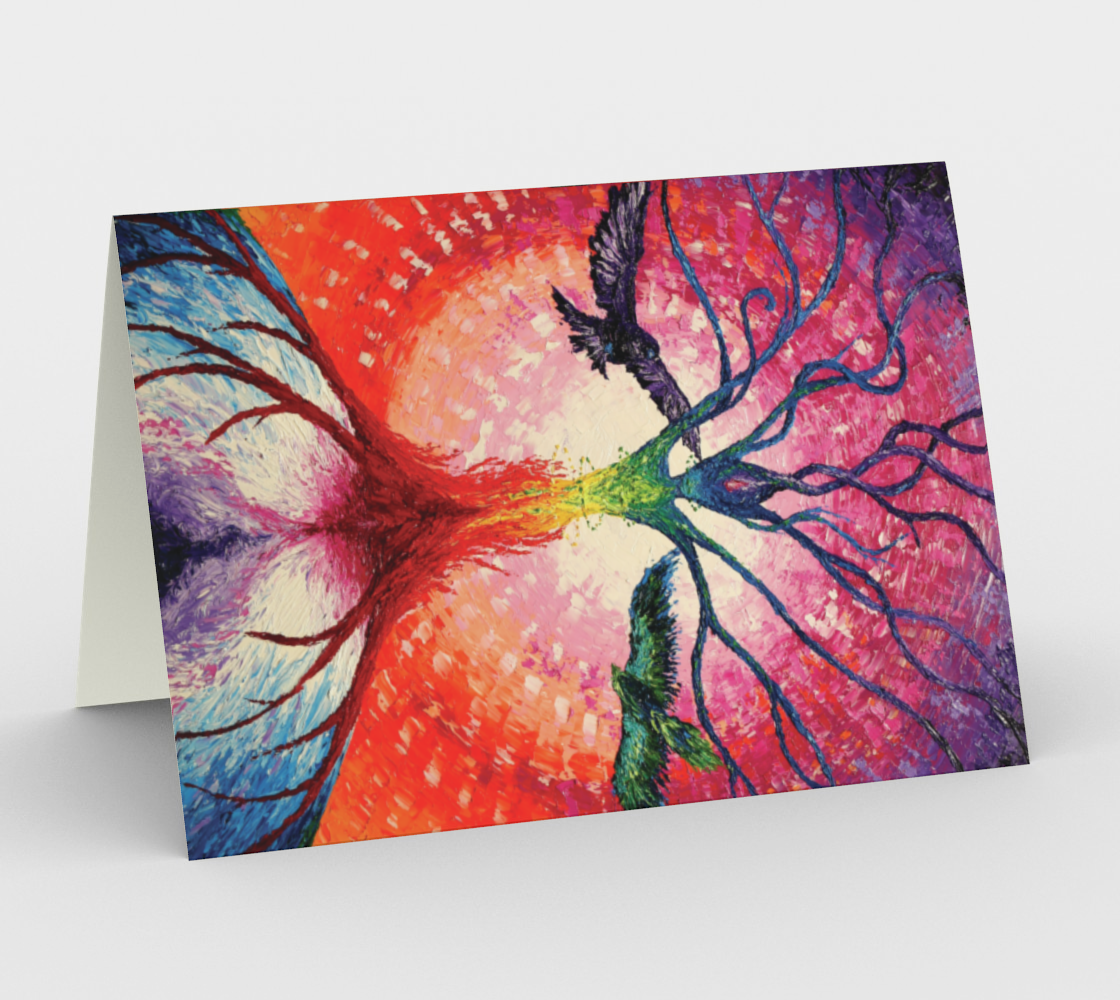 Axis Mundi Note Card preview