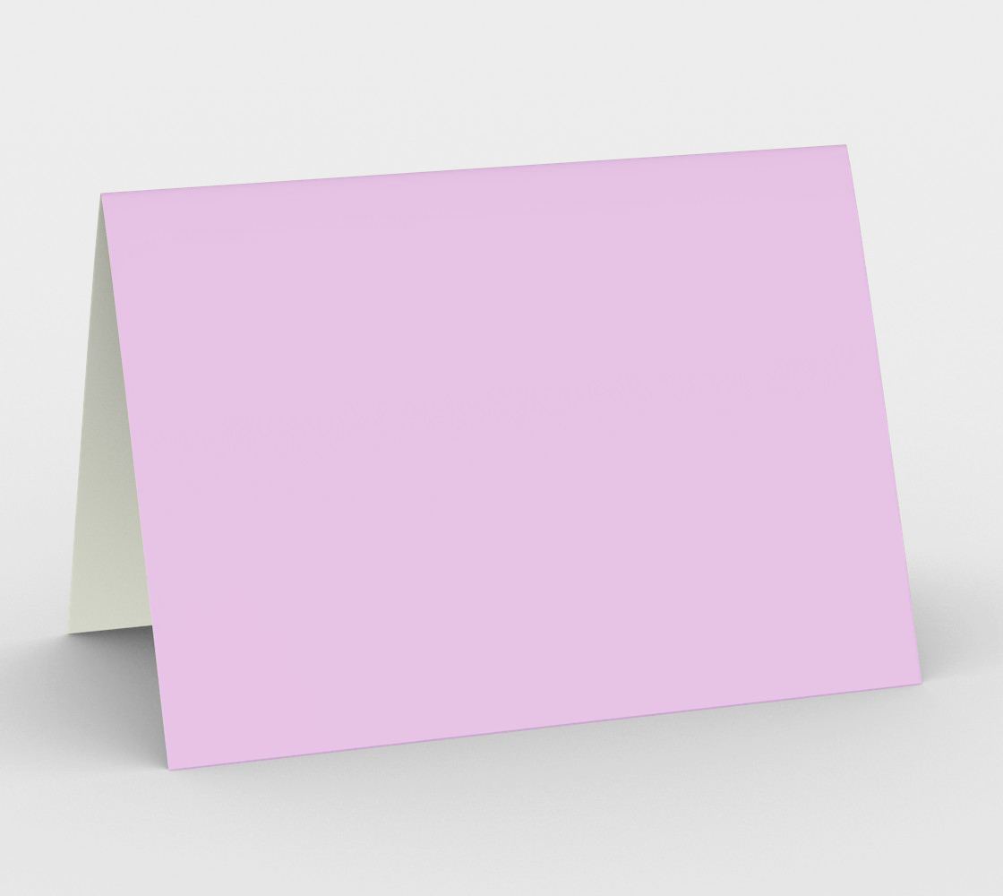 Mauve Color Greeting Card preview