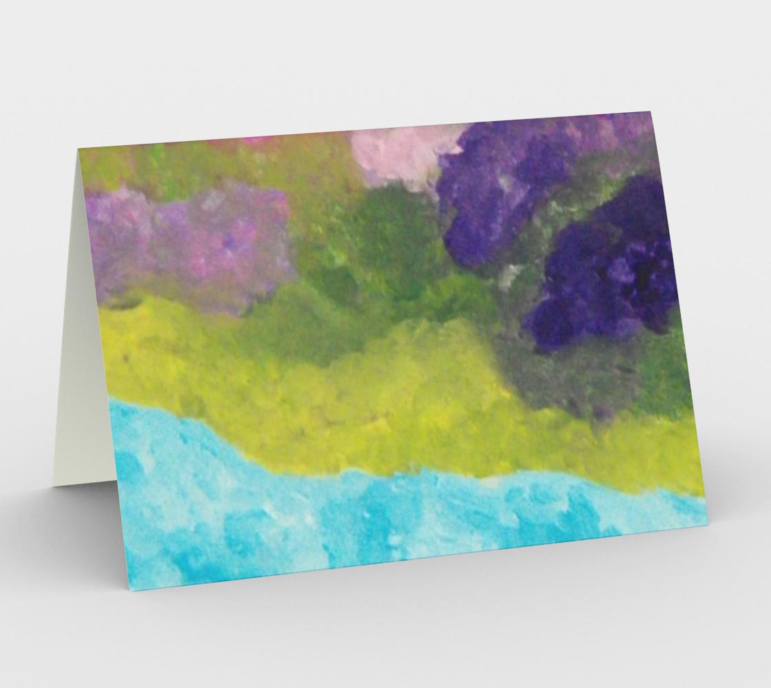 Lilac Garden Card preview