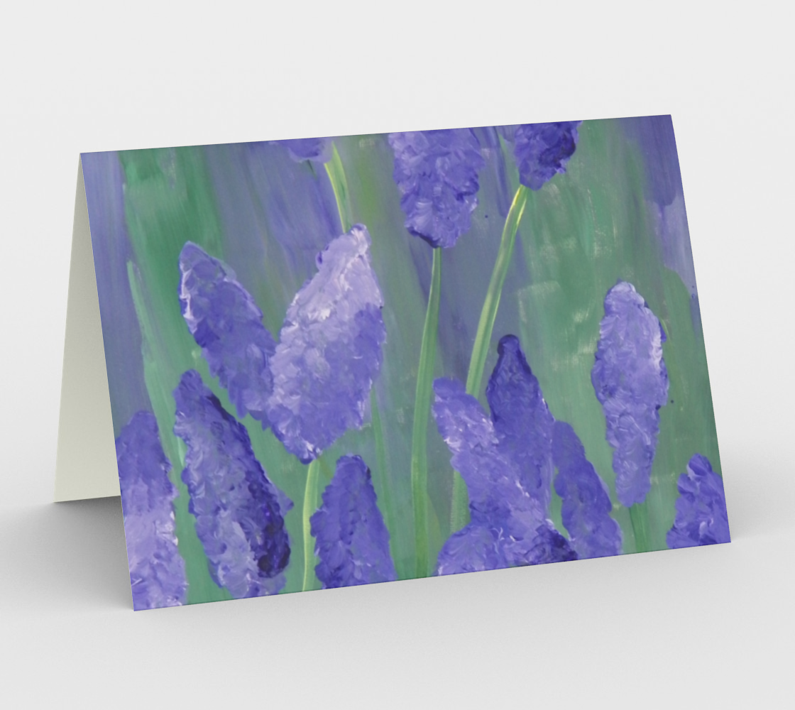 Lavender Card preview