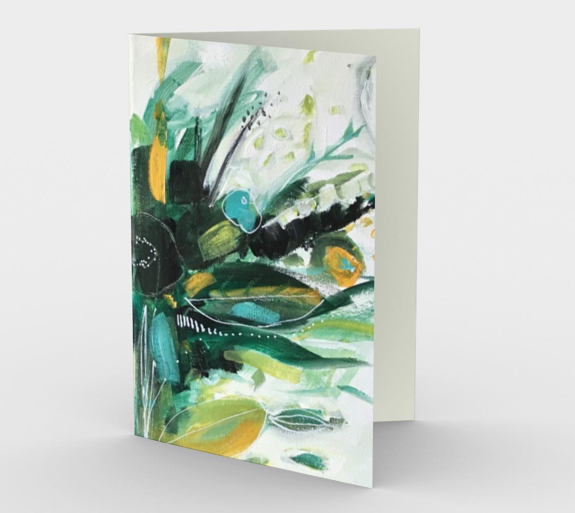 Carte  abstraction végétale   preview
