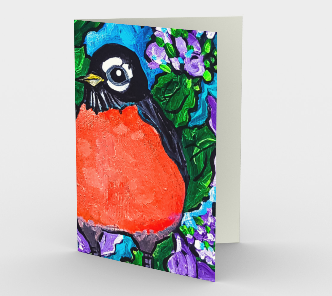 Robin Redbreast  Card preview