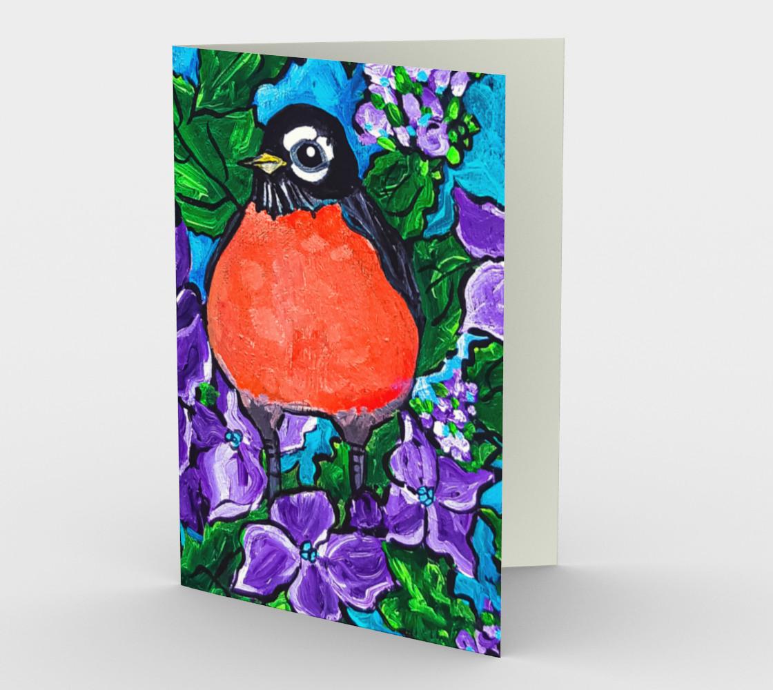 Aperçu de Robin Redbreast Card 2