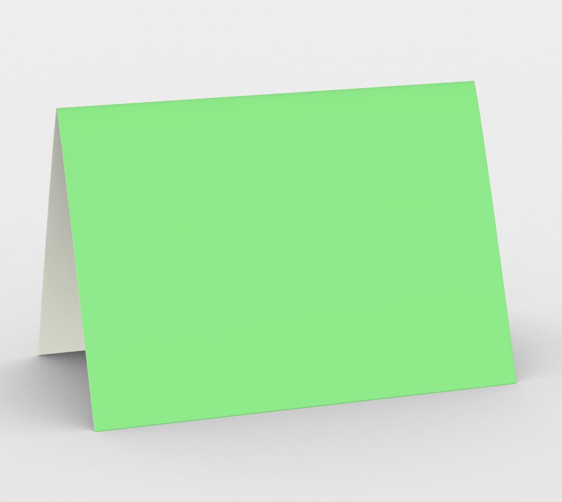 color light green  aperçu