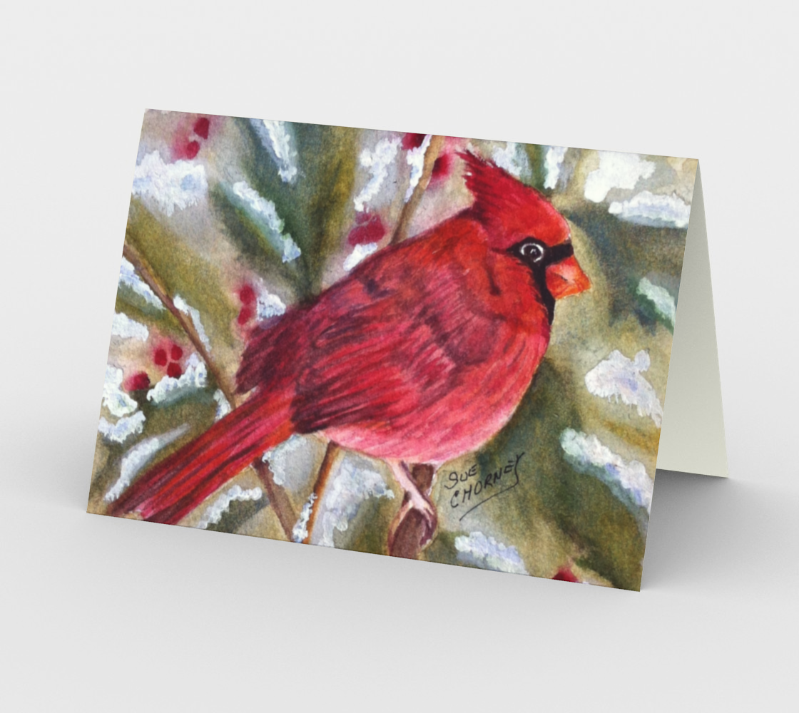 CHRISTMAS CARDINAL Holiday CARD preview #2