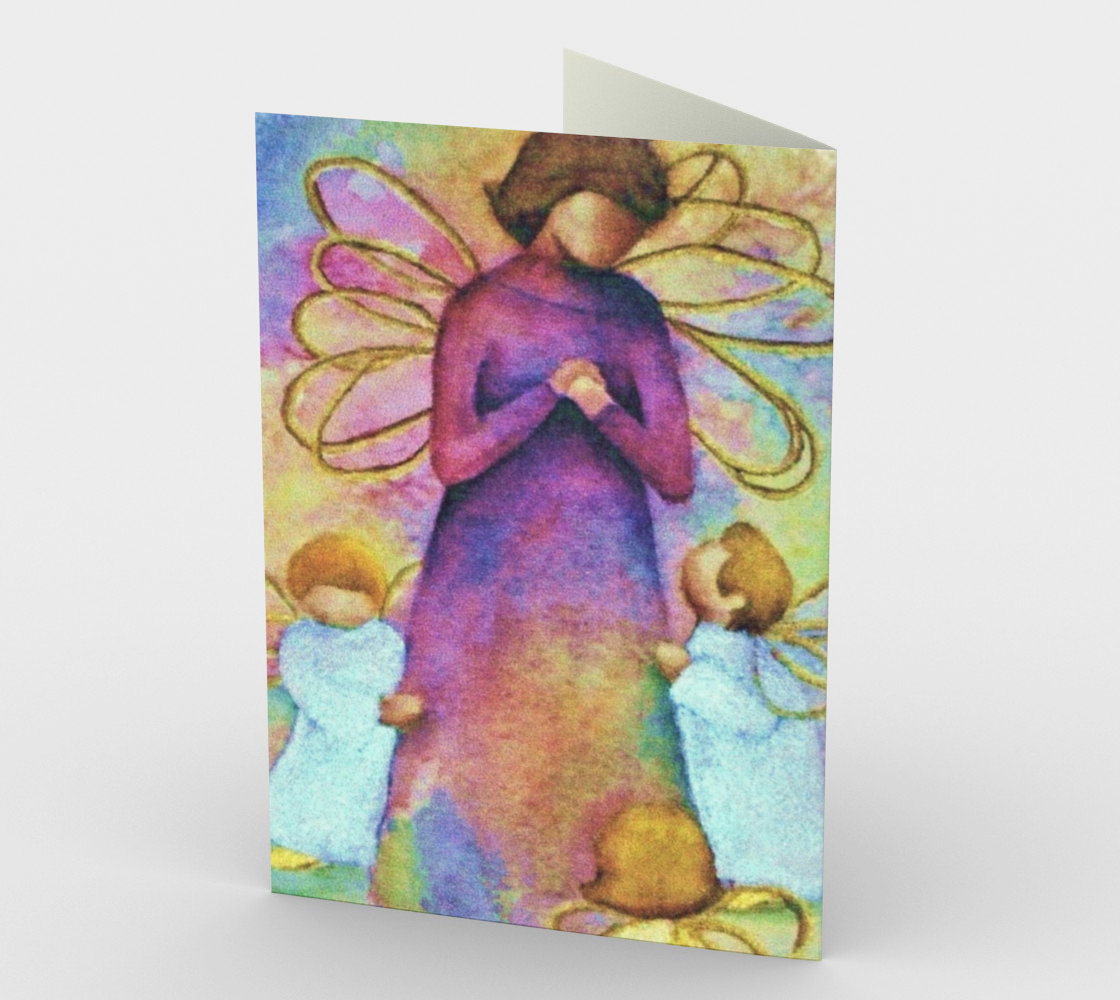 CHRISTMAS ANGELS Holiday CARDS Miniature #3