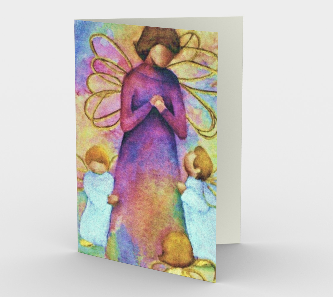 CHRISTMAS ANGELS Holiday CARDS Miniature #2