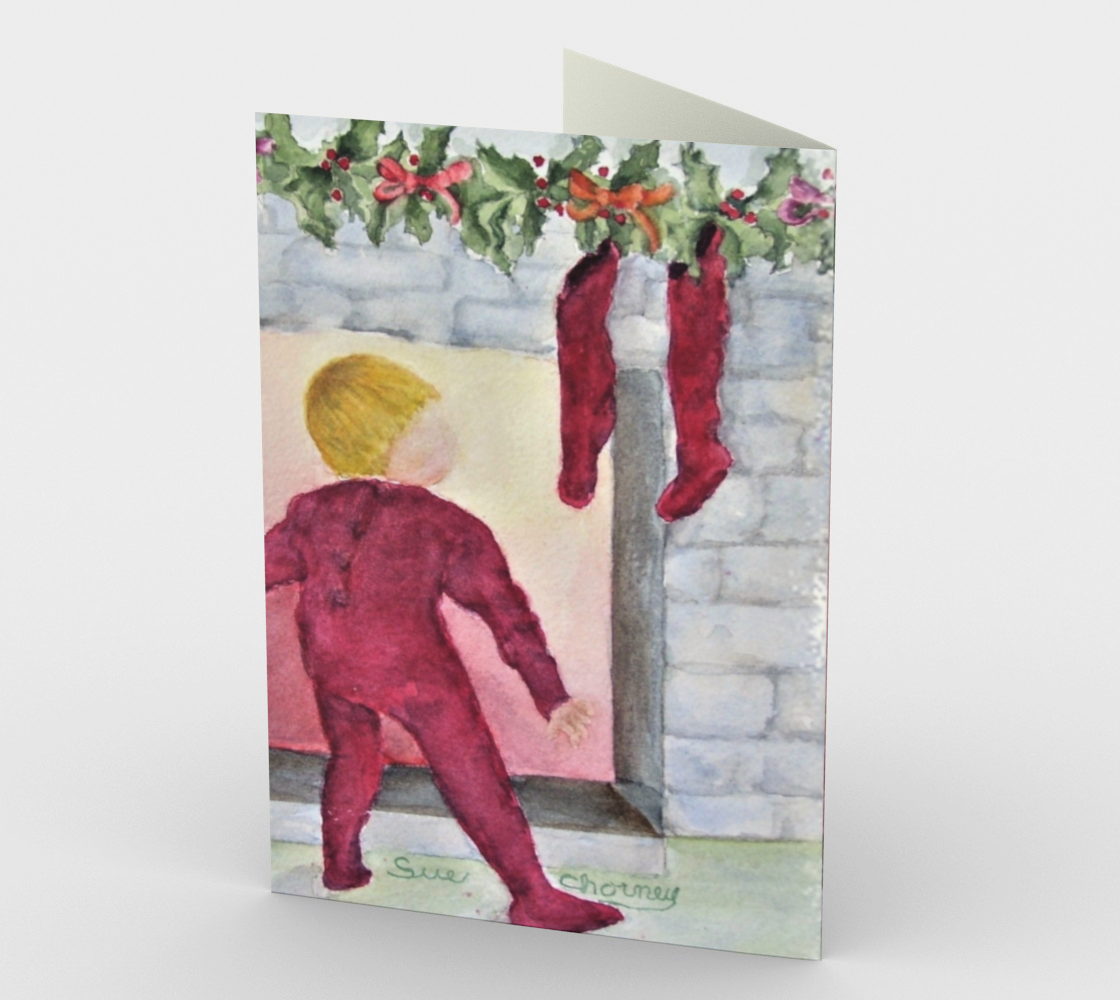 WAITING for SANTA Holiday CARDS preview #2