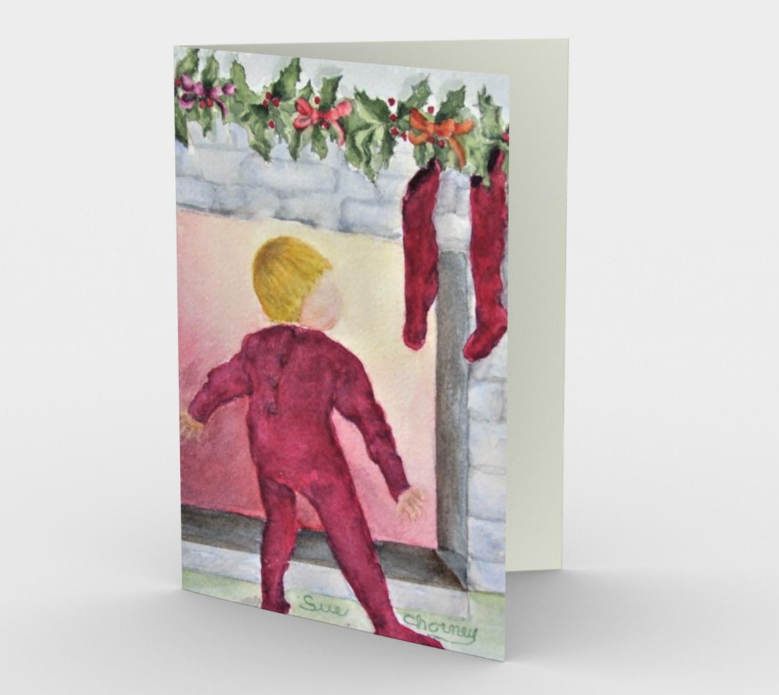 Aperçu de WAITING for SANTA Holiday CARDS