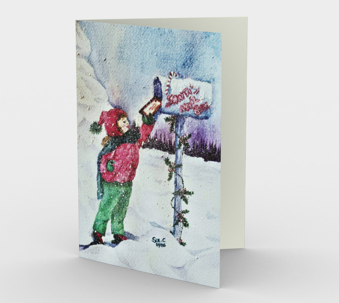 DEAR SANTA Holiday CARDS preview