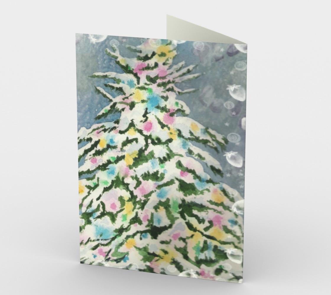 CHRISTMAS TREE Holiday CARDS preview #2