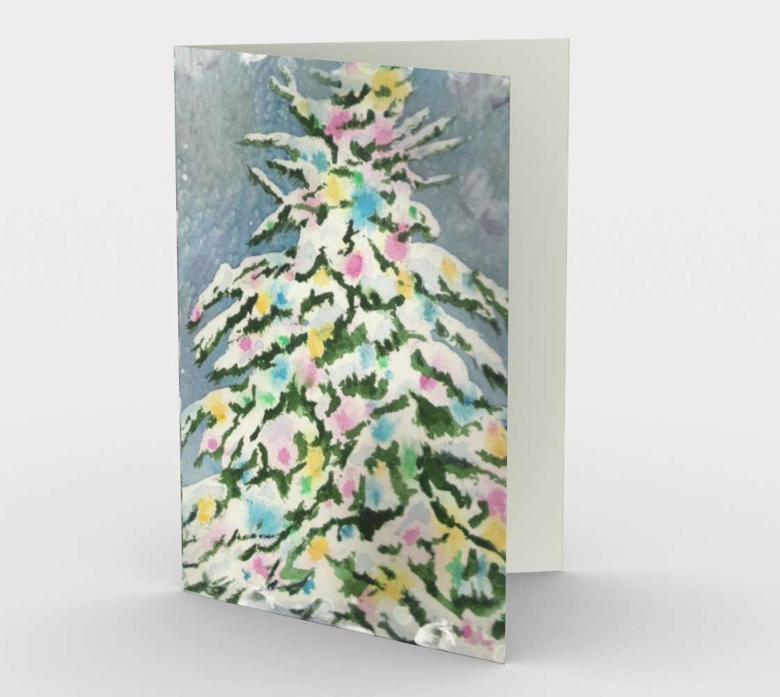 CHRISTMAS TREE Holiday CARDS preview