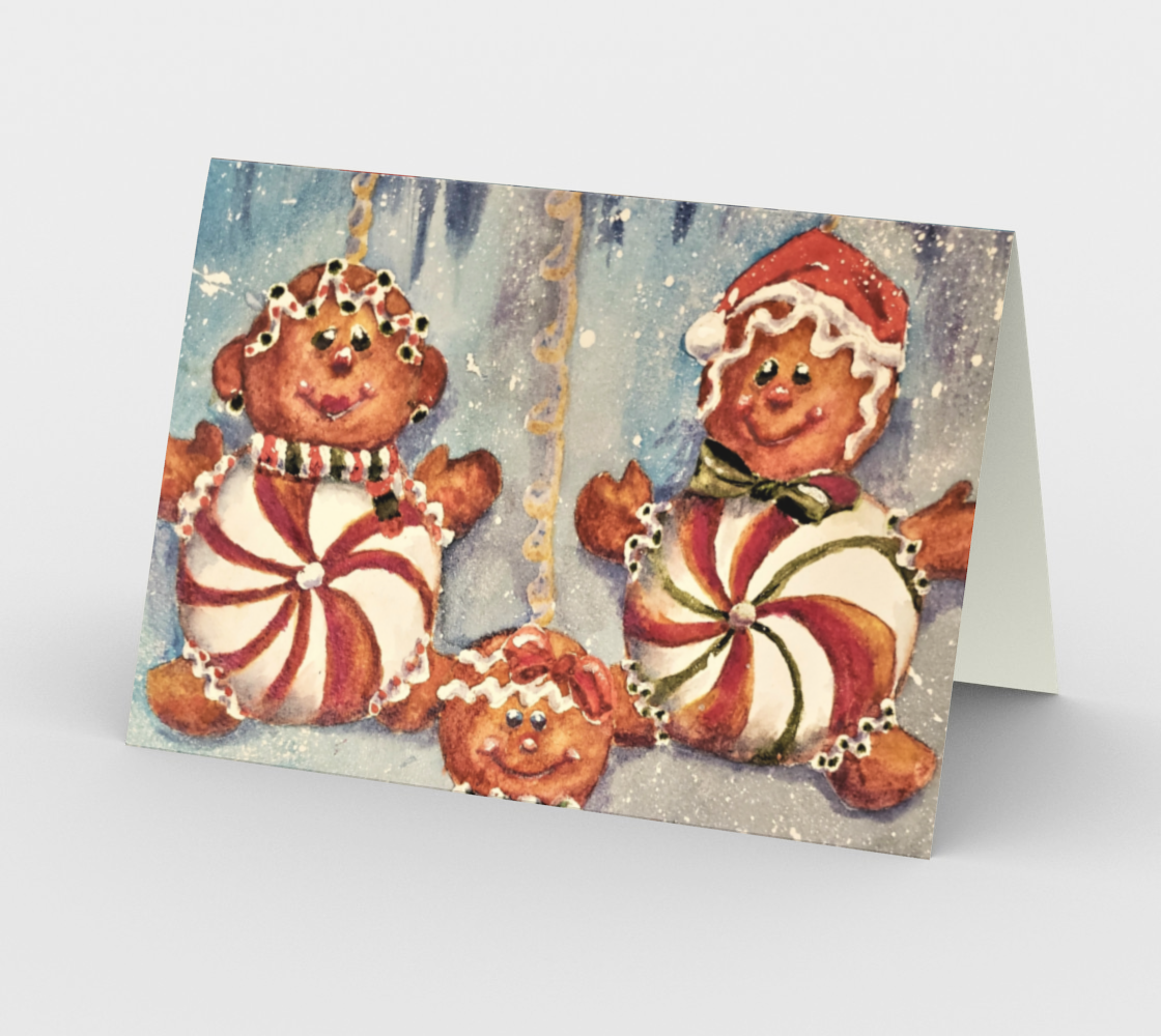 CHRISTMAS COOKIES Holiday CARDS preview #2