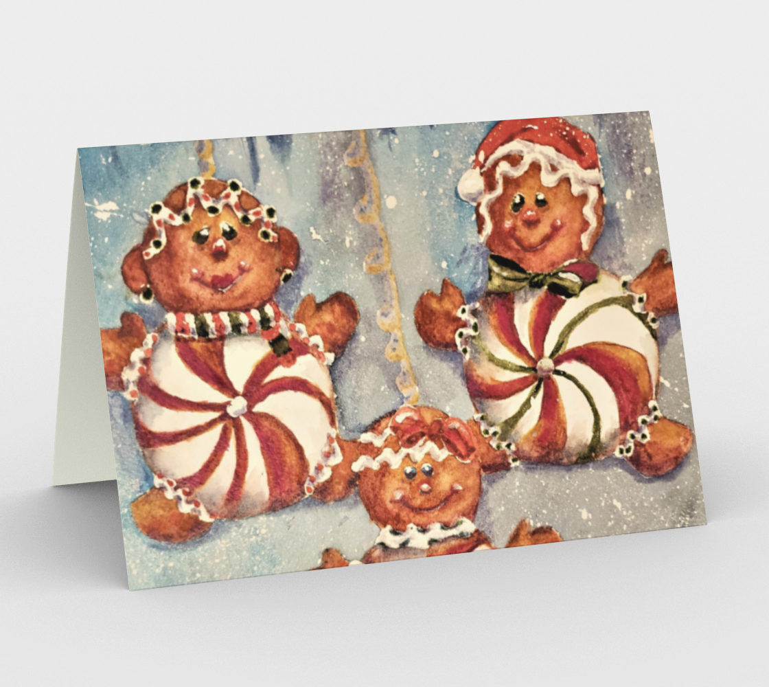 CHRISTMAS COOKIES Holiday CARDS preview