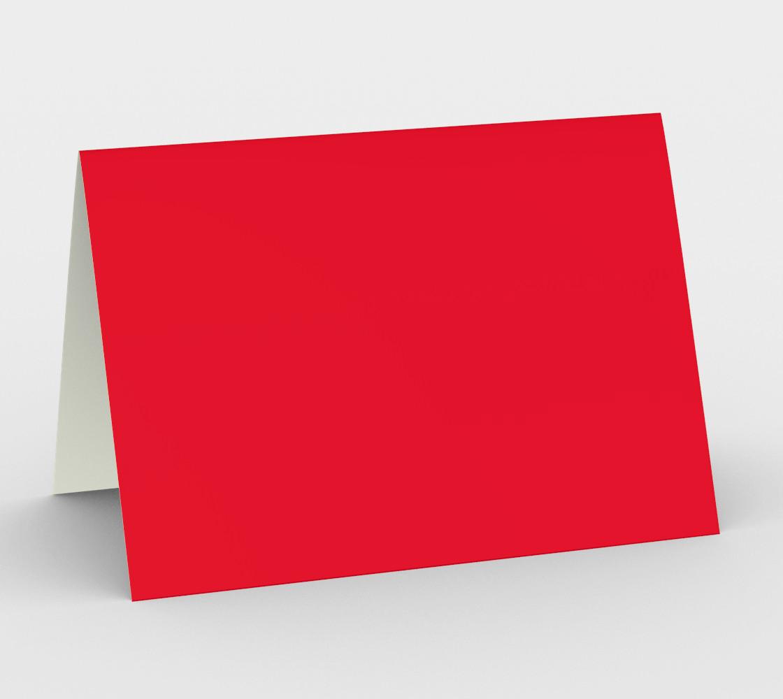 Aperçu de color Spanish red