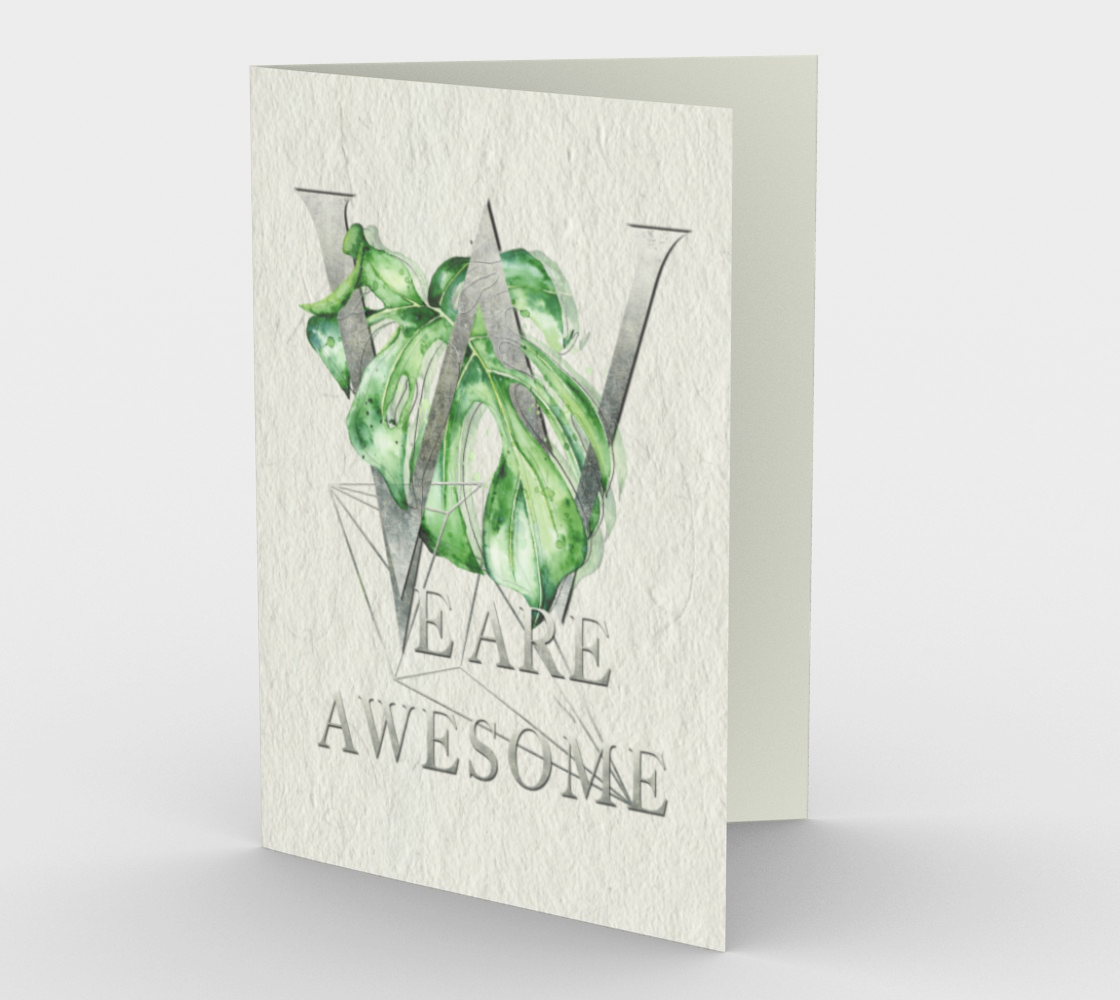 We are Awesome – Motivation in Silver preview
