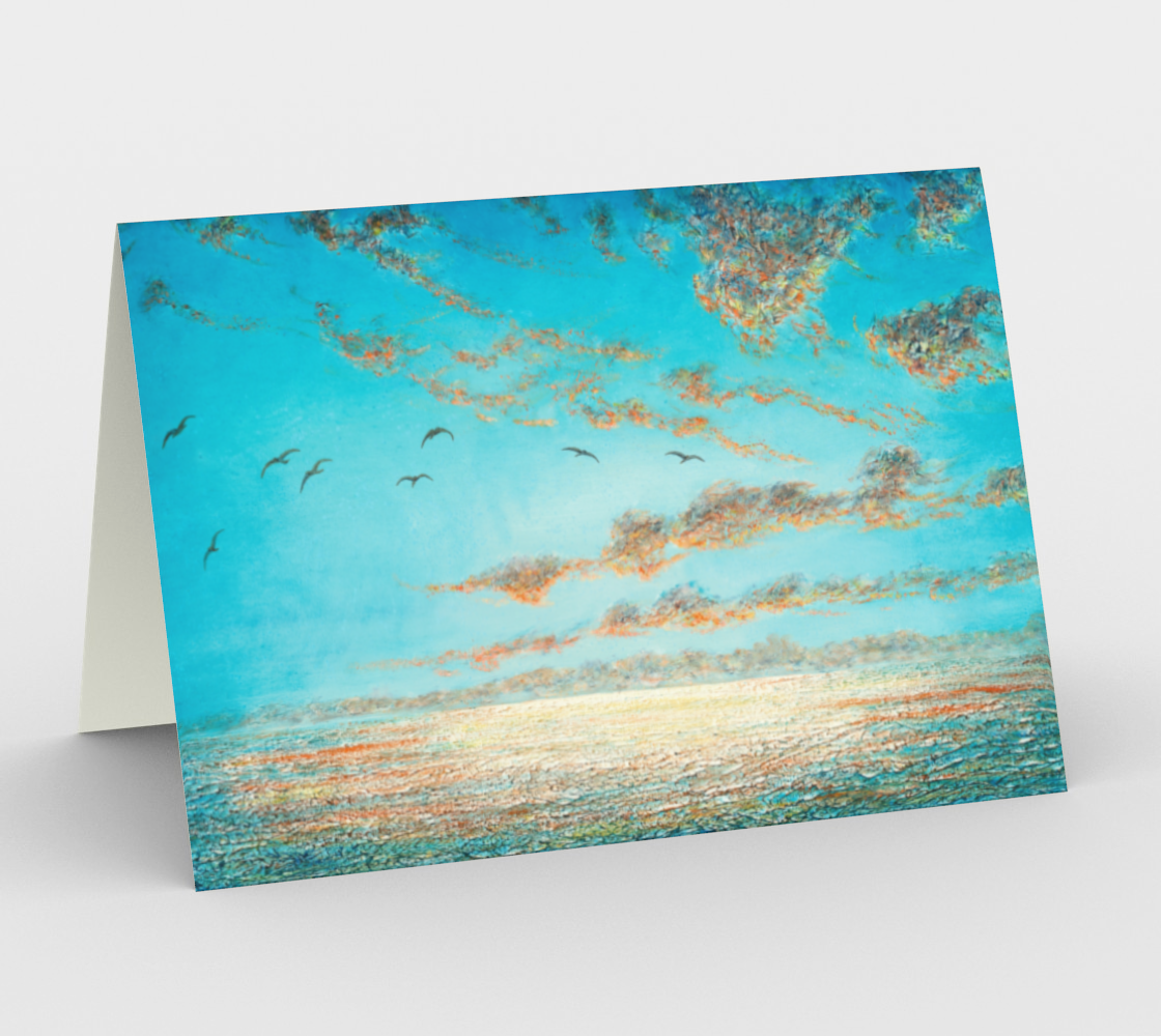 Homeward Bound - Blank Greeting Cards preview