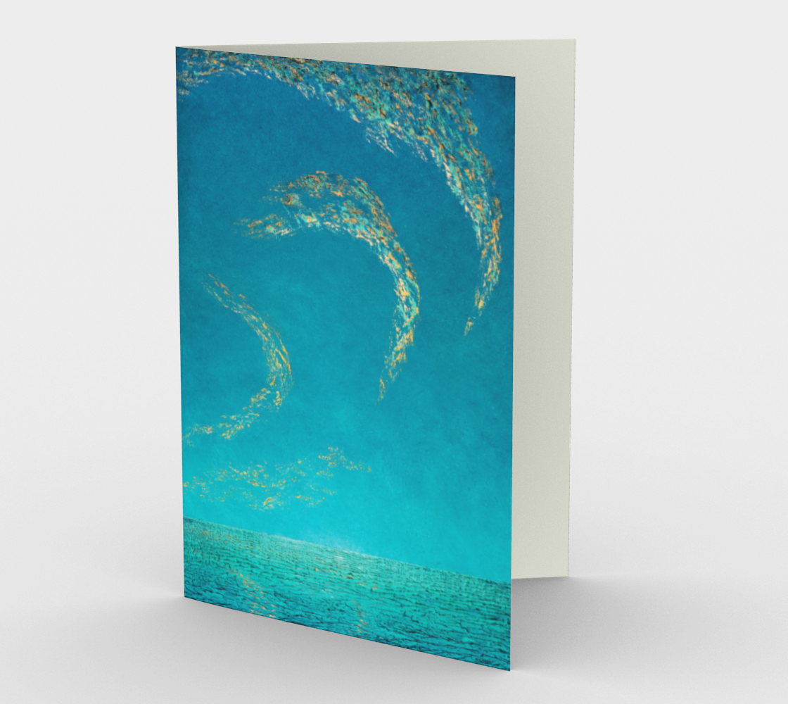 Down on the Beach - Blank Greeting Cards preview