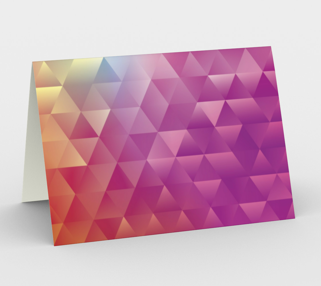 Cool Colorful Geometric Triangles preview