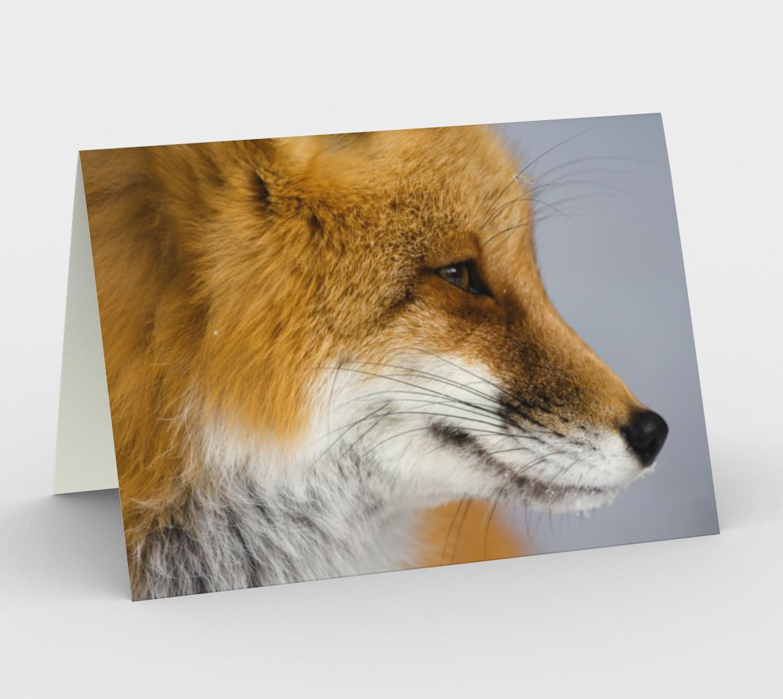 Aperçu de fox greeting card, set of 3