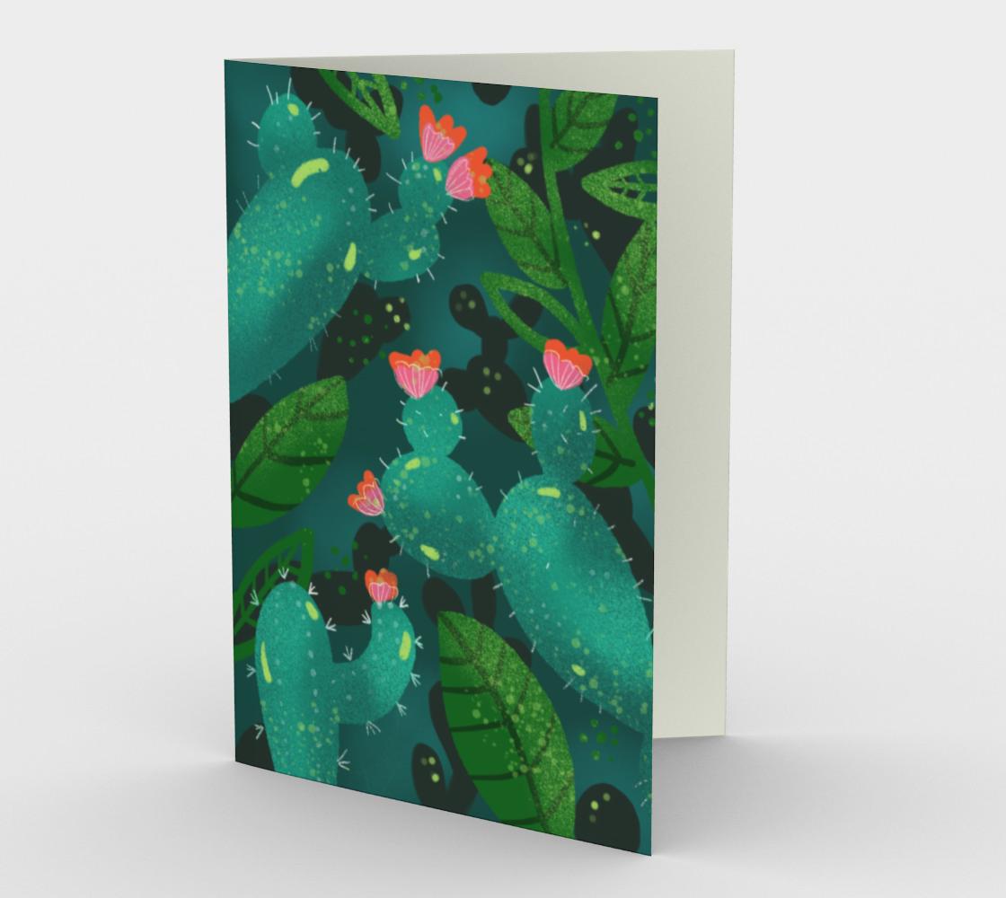 Carte Monde de cactus preview