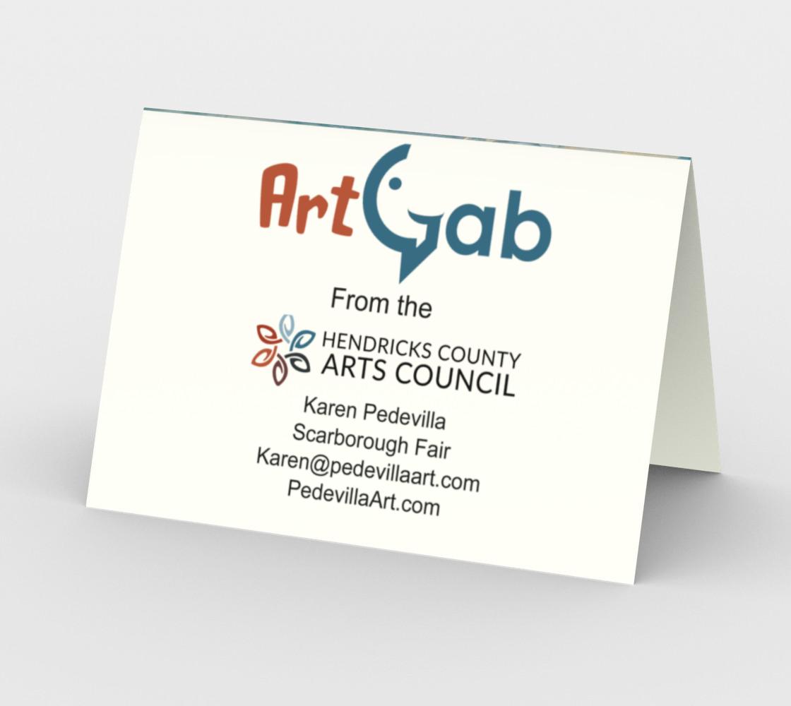 Scarborough Fair Horizontal Card by Karen Pedevilla preview #2