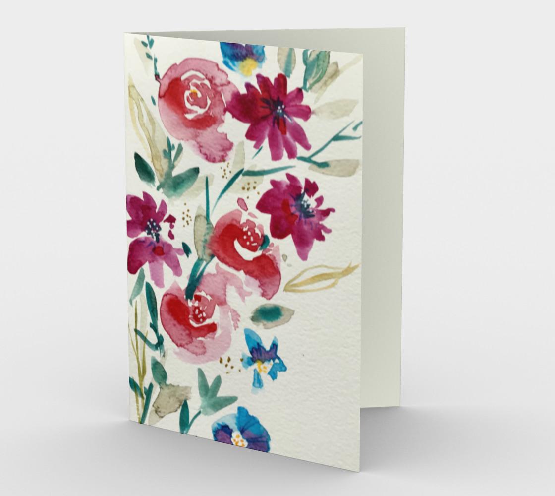Carte Fleurs d'été 1 preview
