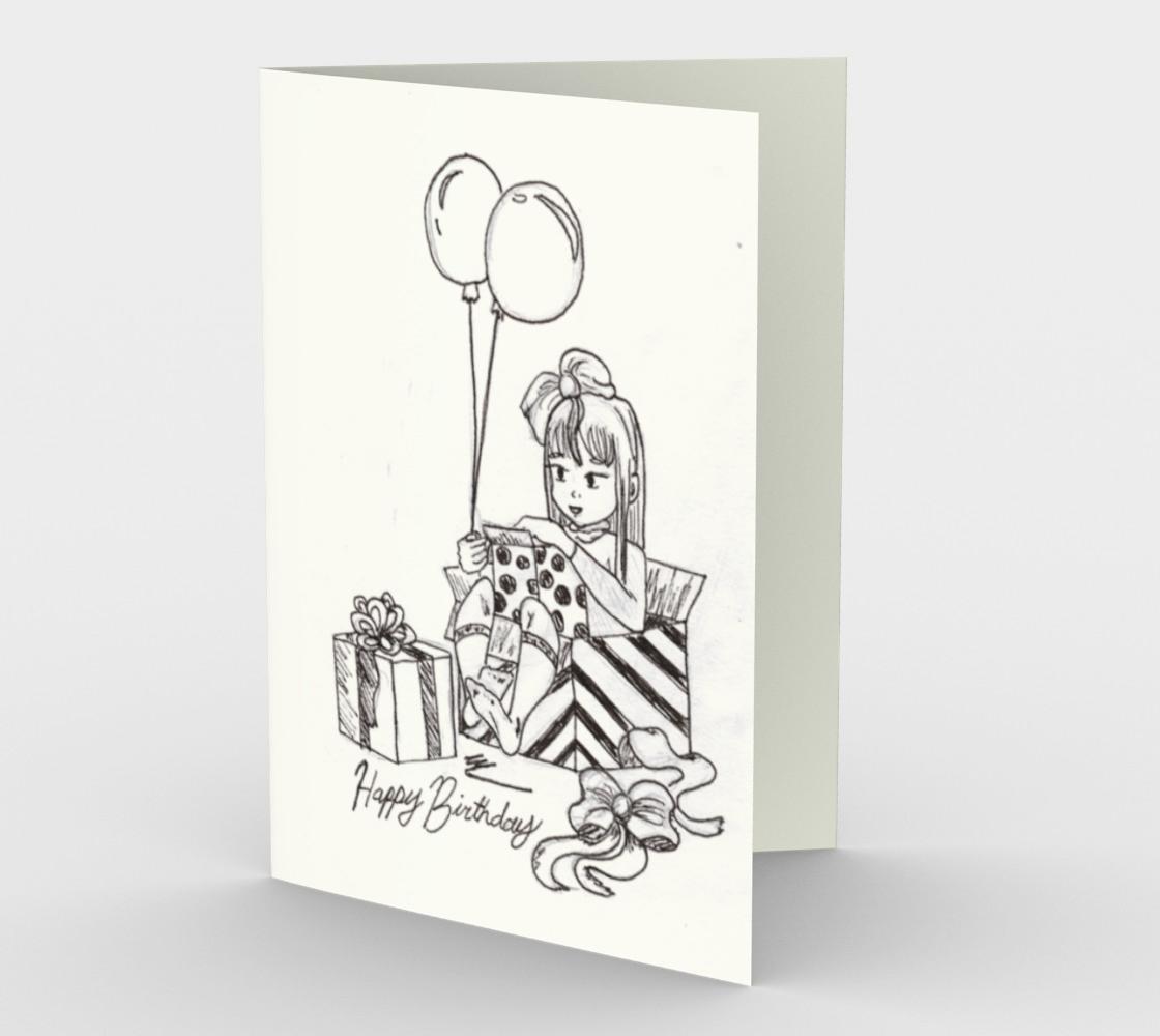 Aperçu de Doodled Birthday Card