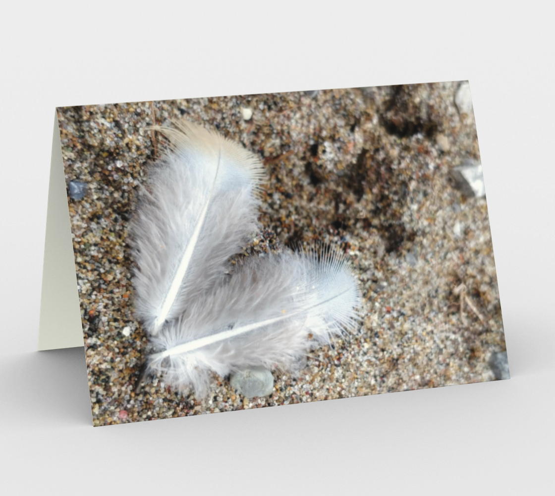 Notecards - Feathers 2 preview
