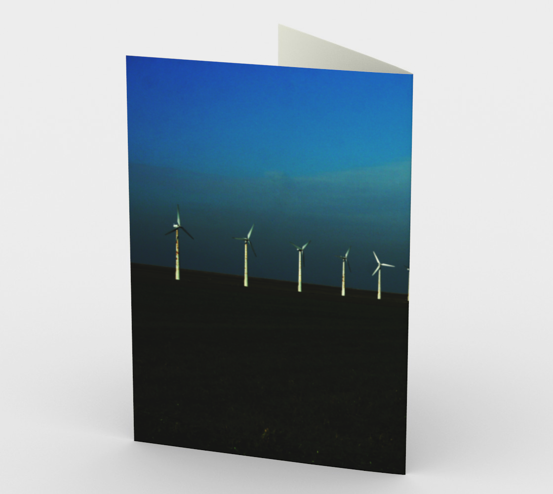 Windfarm Stationery Card preview #2