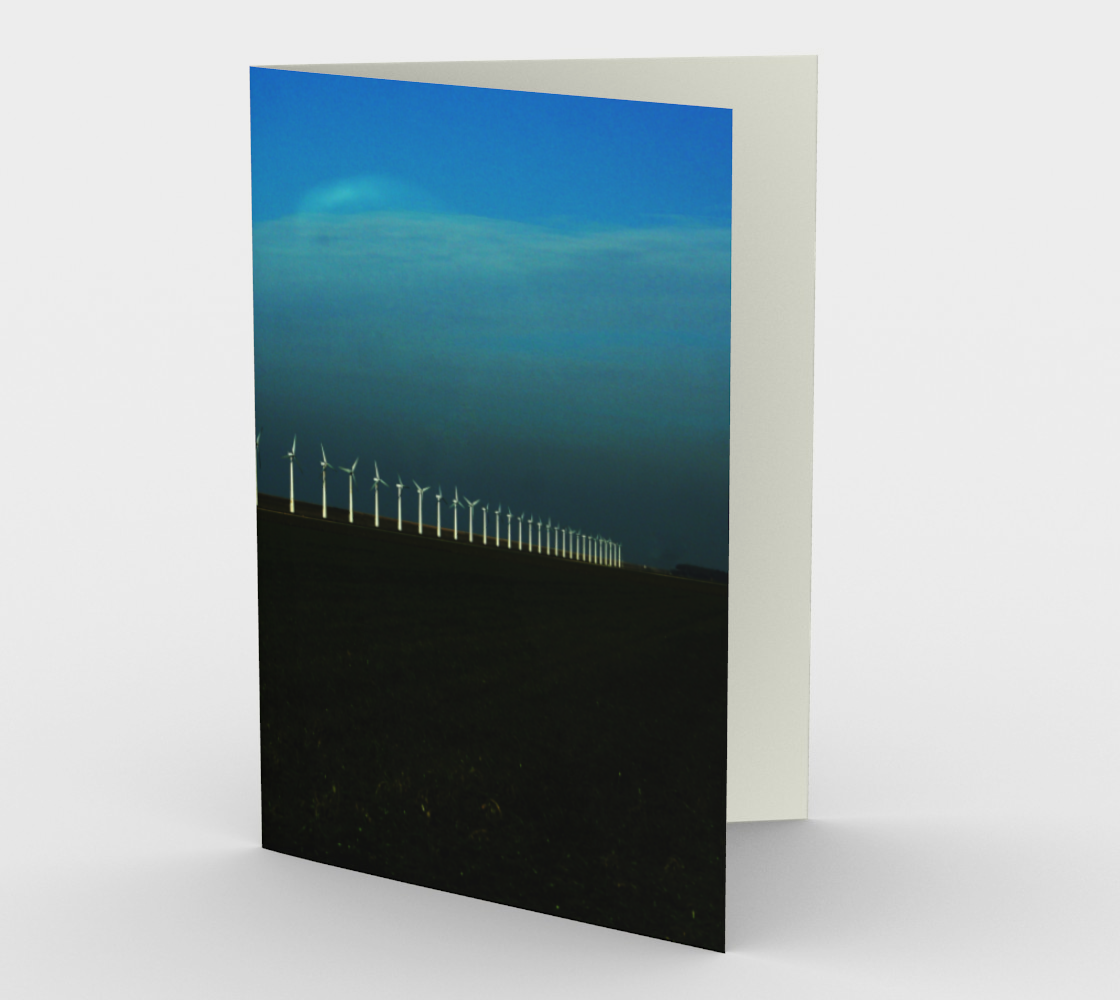 Windfarm Stationery Card preview