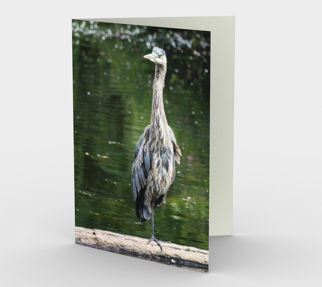 Aperçu de Heron Stationery Card II