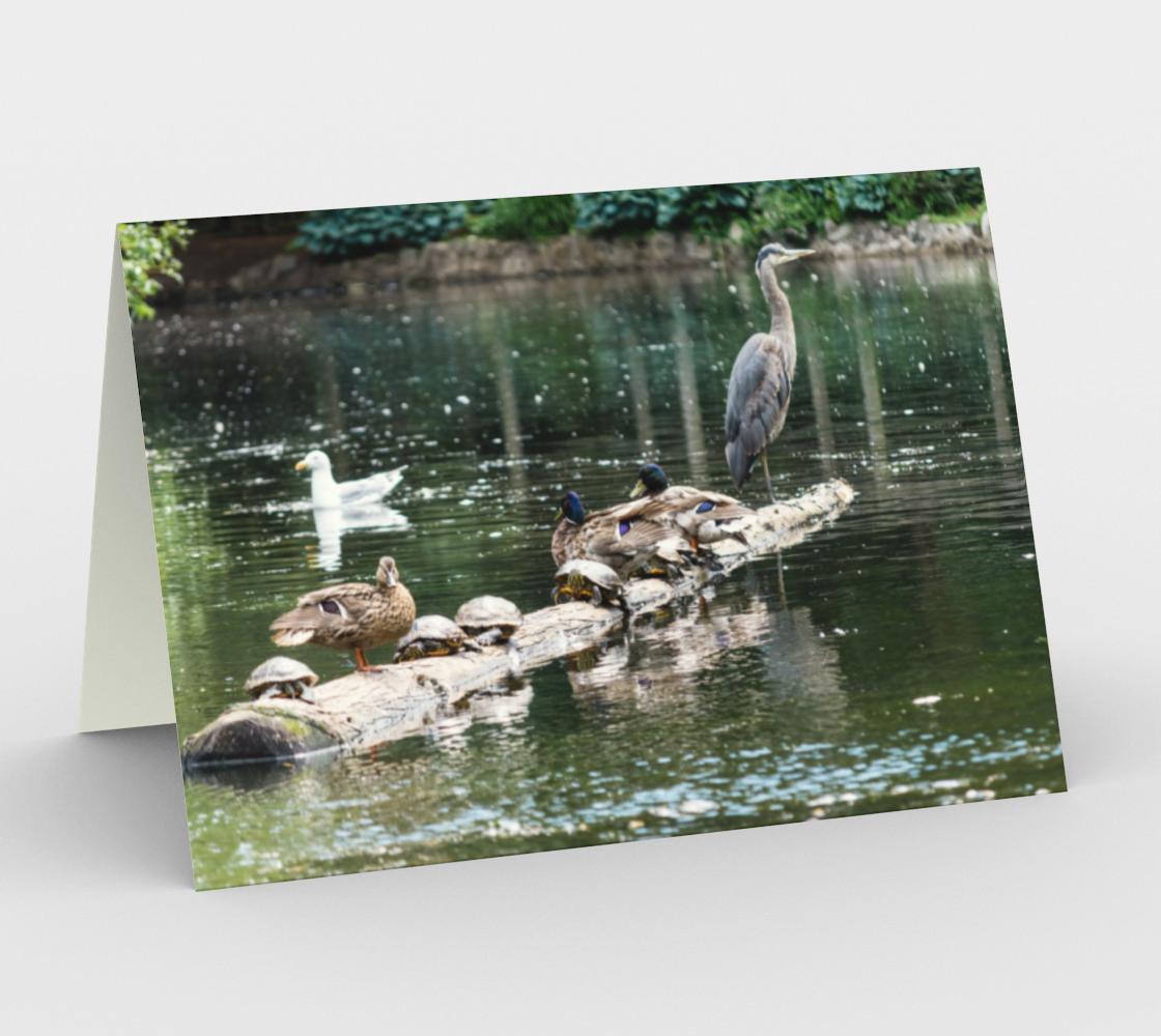 Aperçu de Pond Life Stationery Card