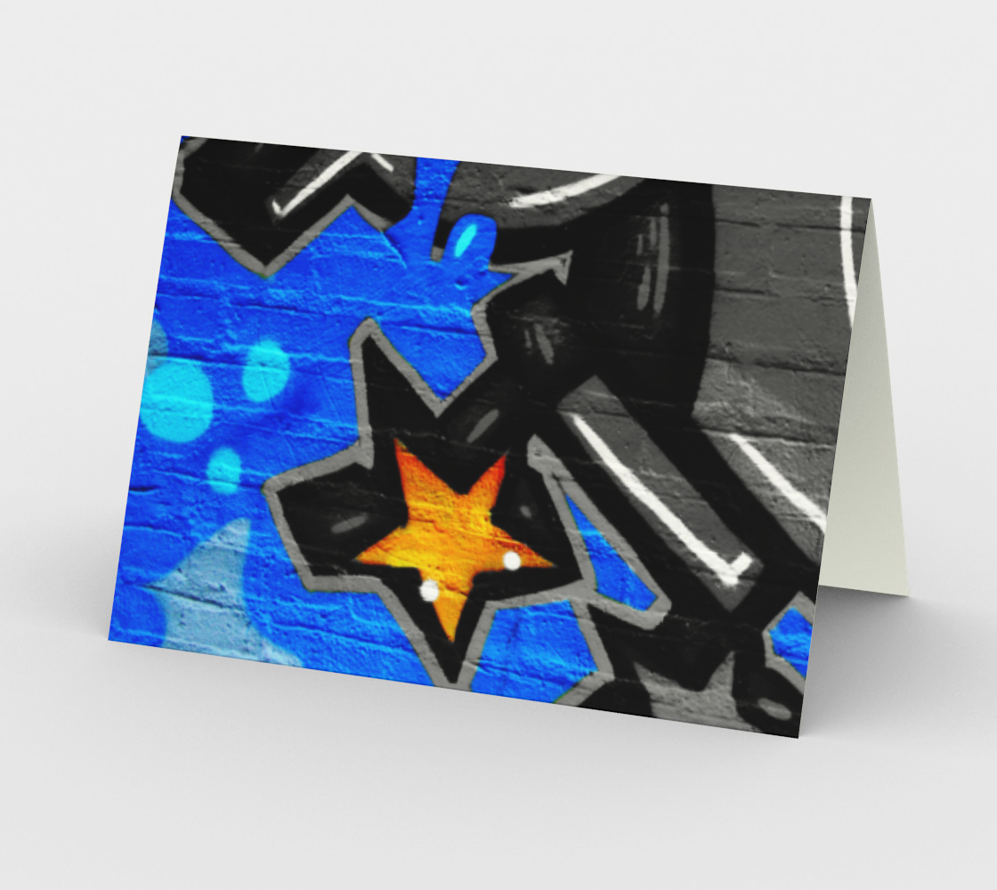 Graffiti 3 Stationery Card preview #2