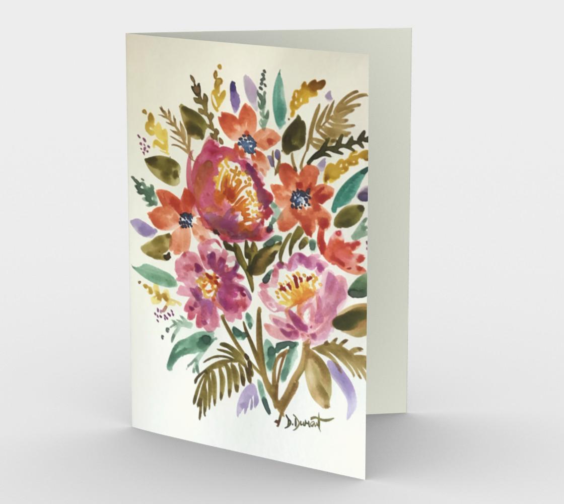 Carte Bouquet d'amour preview