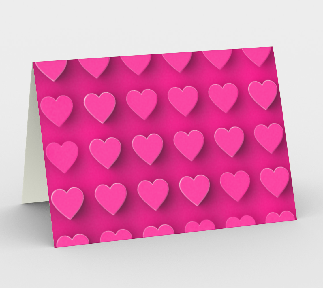 Many Pink Hearts preview #1