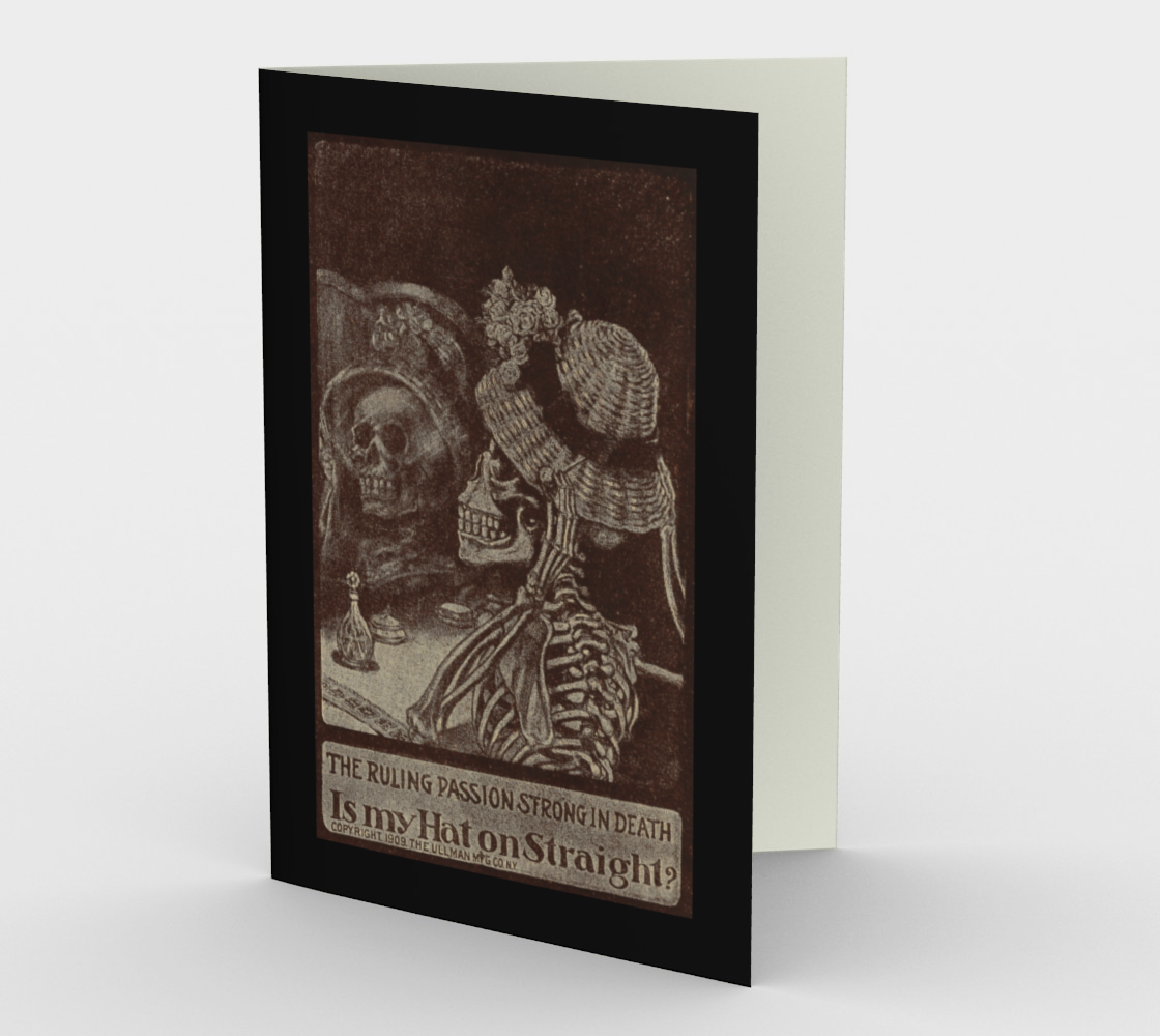 The Ruling Passion Greeting Card preview
