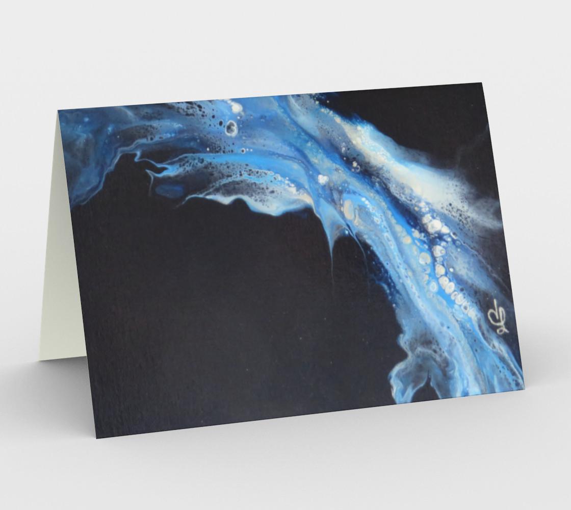 Aperçu de Flambée bleue - Cartes/enveloppes(3)