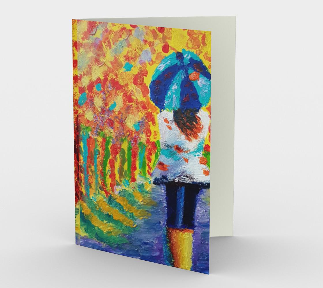 Umbrella Girl Cards  preview